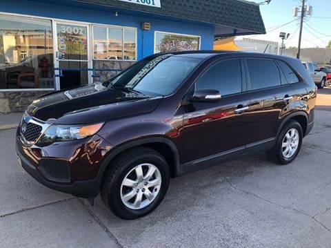 2011 Kia Sorento for sale at Island Auto Sales in Colorado Springs CO