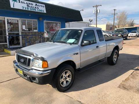 2005 Ford Ranger for sale at Island Auto Sales in Colorado Springs CO