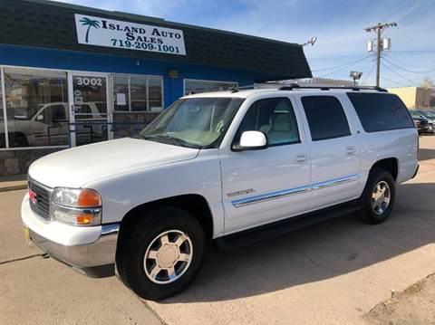 2005 GMC Yukon XL for sale at Island Auto Sales in Colorado Springs CO