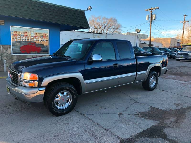 2002 gmc sierra 1500 4dr extended cab sle 4wd sb in colorado springs co island auto sales 2002 gmc sierra 1500 4dr extended cab