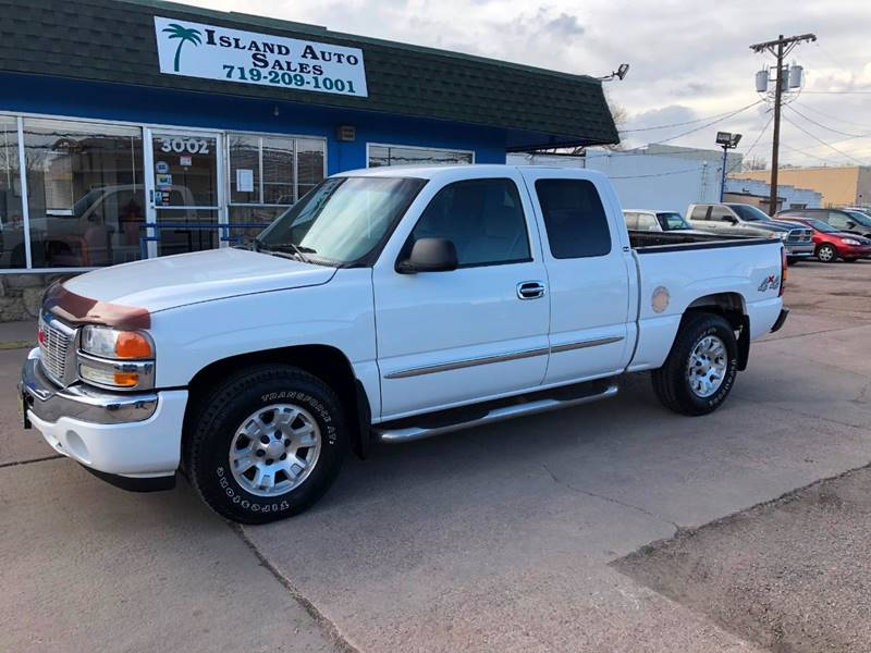 2006 Gmc Sierra 1500 Sle2 4dr Extended Cab 4wd 5 8 Ft Sb In