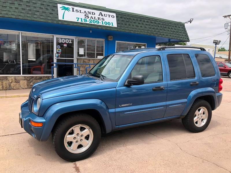 2004 jeep liberty limited 4wd 4dr suv in colorado springs co island auto sales 2004 jeep liberty limited 4wd 4dr suv