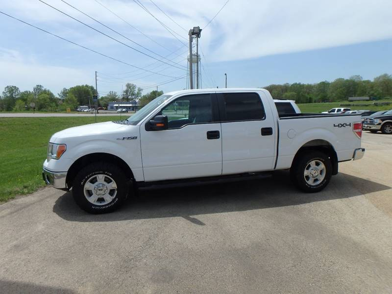 2013 Ford F-150 4x4 XLT 4dr SuperCrew Styleside 6.5 ft. SB - Farmington MO