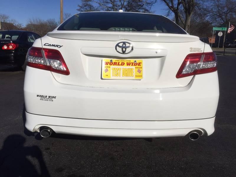 2011 Toyota Camry SE 4dr Sedan 6A - Marietta GA