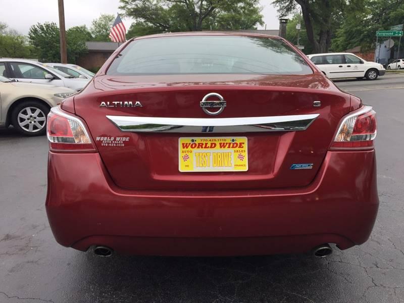 2013 Nissan Altima 2.5 4dr Sedan - Marietta GA