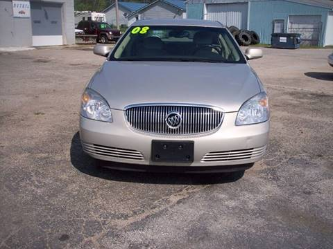 2008 Buick Lucerne for sale at Shaw Motor Sales in Kalkaska MI