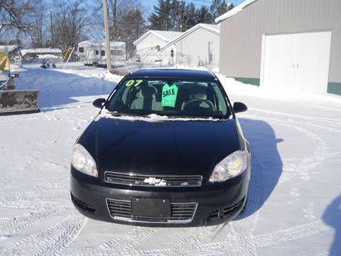2007 Chevrolet Impala for sale at Shaw Motor Sales in Kalkaska MI