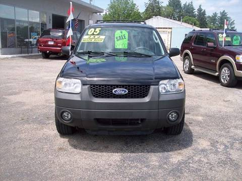 2005 Ford Escape for sale at Shaw Motor Sales in Kalkaska MI