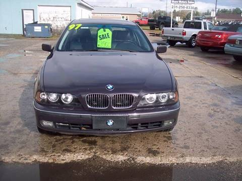 1997 BMW 5 Series for sale at Shaw Motor Sales in Kalkaska MI