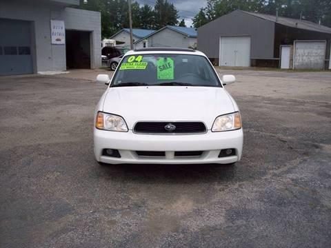 2004 Subaru Legacy for sale at Shaw Motor Sales in Kalkaska MI