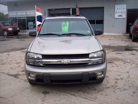2002 Chevrolet TrailBlazer for sale at Shaw Motor Sales in Kalkaska MI