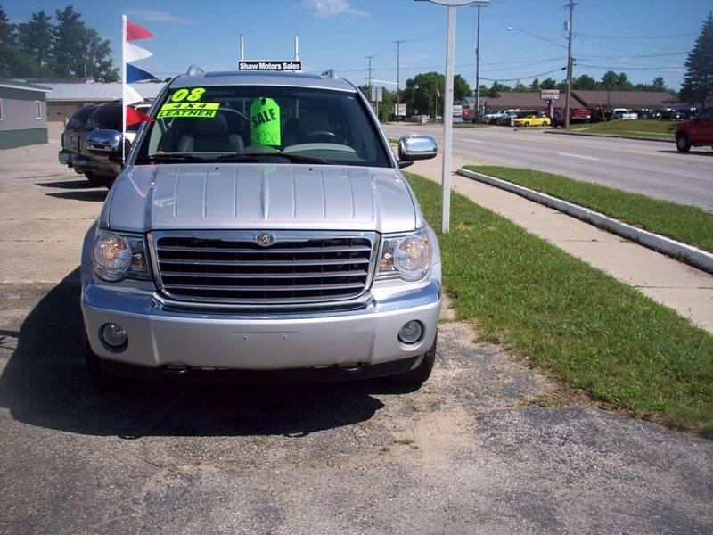2008 Chrysler Aspen for sale at Shaw Motor Sales in Kalkaska MI