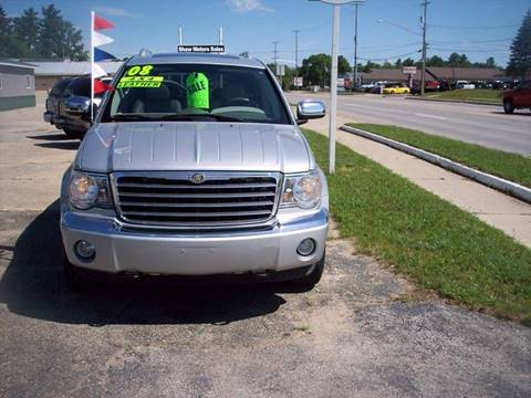 2008 Chrysler Aspen for sale at Shaw Motor Sales in Kalkaska MI