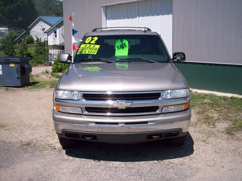 2002 Chevrolet Suburban for sale at Shaw Motor Sales in Kalkaska MI