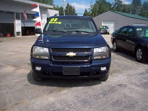 2008 Chevrolet TrailBlazer for sale at Shaw Motor Sales in Kalkaska MI