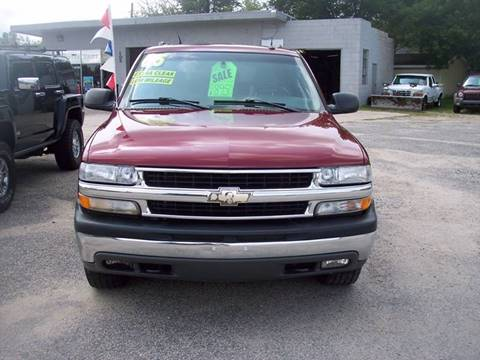 2005 Chevrolet Tahoe for sale at Shaw Motor Sales in Kalkaska MI