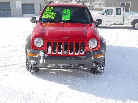 2002 Jeep Liberty for sale at Shaw Motor Sales in Kalkaska MI