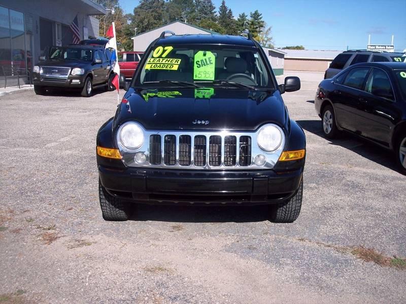 2007 Jeep Liberty Limited 4dr SUV 4WD   Kalkaska MI