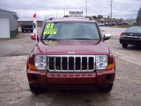 2008 Jeep Commander for sale at Shaw Motor Sales in Kalkaska MI
