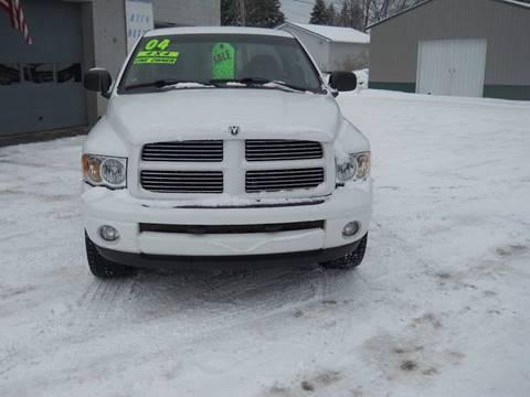 2004 Dodge Ram Pickup 1500 for sale at Shaw Motor Sales in Kalkaska MI
