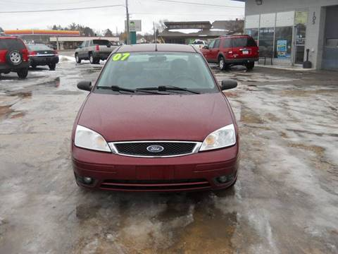2007 Ford Focus for sale at Shaw Motor Sales in Kalkaska MI