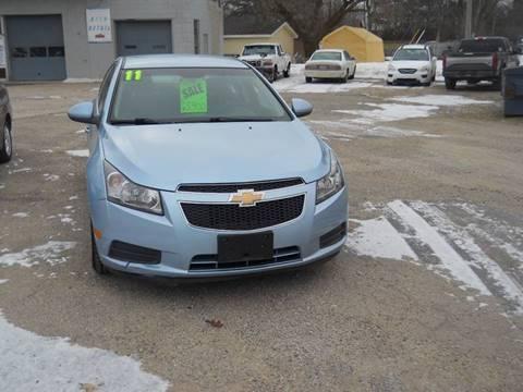 2011 Chevrolet Cruze for sale at Shaw Motor Sales in Kalkaska MI