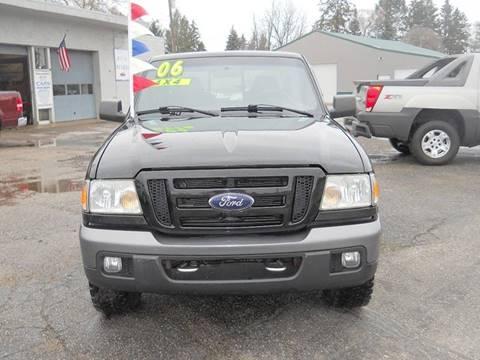 2006 Ford Ranger for sale at Shaw Motor Sales in Kalkaska MI