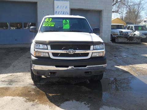 2003 Chevrolet Silverado 2500HD for sale at Shaw Motor Sales in Kalkaska MI