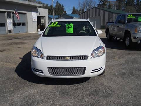 2013 Chevrolet Impala for sale at Shaw Motor Sales in Kalkaska MI