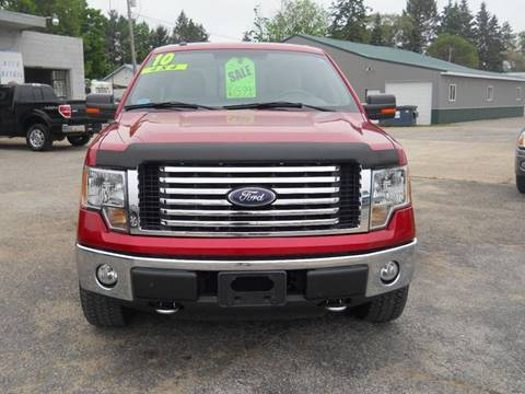 2010 Ford F-150 for sale at Shaw Motor Sales in Kalkaska MI