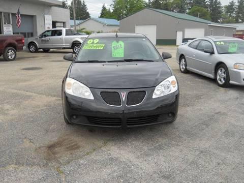 2009 Pontiac G6 for sale at Shaw Motor Sales in Kalkaska MI