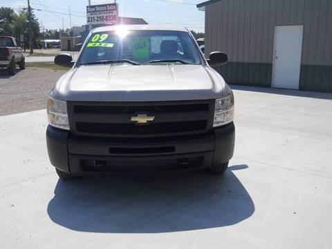 2009 Chevrolet Silverado 1500 for sale at Shaw Motor Sales in Kalkaska MI