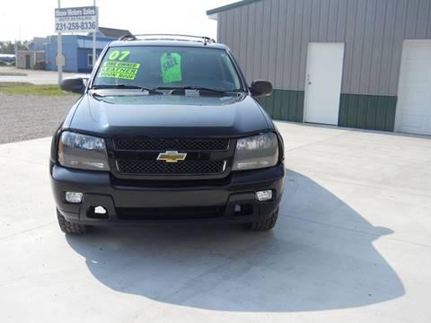2007 Chevrolet TrailBlazer for sale at Shaw Motor Sales in Kalkaska MI