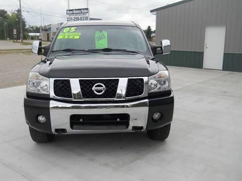 2005 Nissan Titan for sale at Shaw Motor Sales in Kalkaska MI