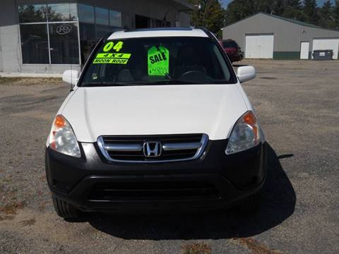 2004 Honda CR-V for sale at Shaw Motor Sales in Kalkaska MI