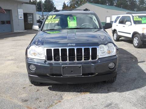 2007 Jeep Grand Cherokee for sale at Shaw Motor Sales in Kalkaska MI