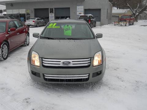 2008 Ford Fusion for sale at Shaw Motor Sales in Kalkaska MI