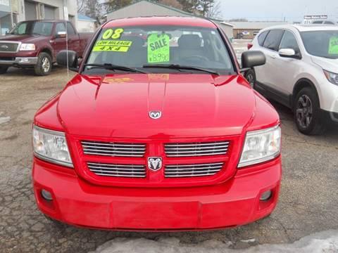 2008 Dodge Dakota for sale at Shaw Motor Sales in Kalkaska MI