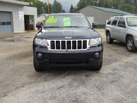 2012 Jeep Grand Cherokee for sale at Shaw Motor Sales in Kalkaska MI