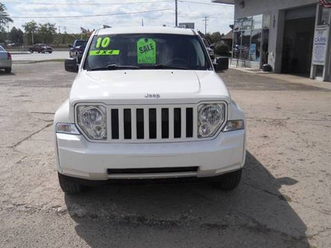 2010 Jeep Liberty for sale at Shaw Motor Sales in Kalkaska MI