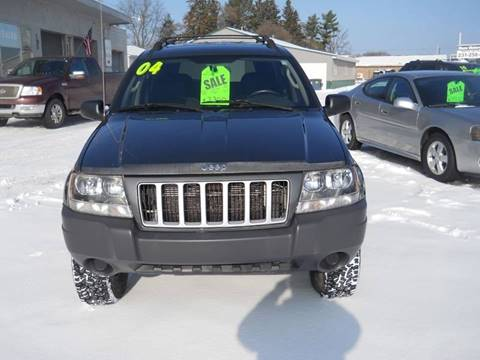 2004 Jeep Grand Cherokee for sale at Shaw Motor Sales in Kalkaska MI