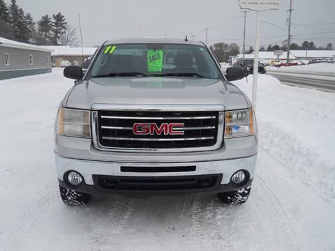 2011 GMC Sierra 1500 for sale at Shaw Motor Sales in Kalkaska MI