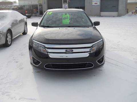 2012 Ford Fusion for sale at Shaw Motor Sales in Kalkaska MI