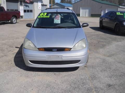 2003 Ford Focus for sale at Shaw Motor Sales in Kalkaska MI