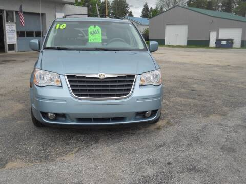 2010 Chrysler Town and Country for sale at Shaw Motor Sales in Kalkaska MI