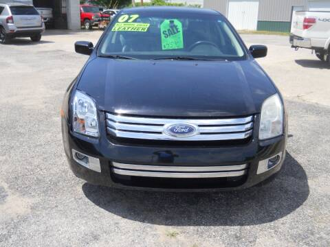 2007 Ford Fusion for sale at Shaw Motor Sales in Kalkaska MI