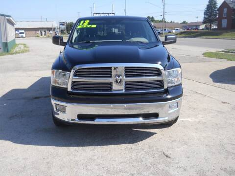 2012 RAM Ram Pickup 1500 for sale at Shaw Motor Sales in Kalkaska MI