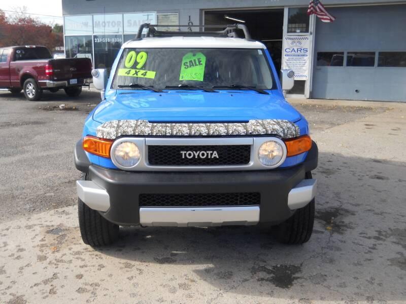 2007 Toyota FJ Cruiser for sale at Shaw Motor Sales in Kalkaska MI