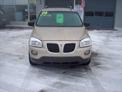 2006 Pontiac Montana SV6 for sale at Shaw Motor Sales in Kalkaska MI