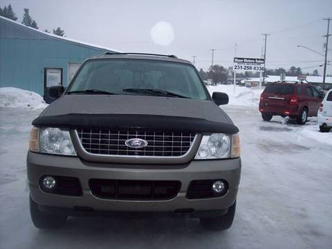 2004 Ford Explorer for sale at Shaw Motor Sales in Kalkaska MI